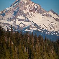 Mt. Hood from Lost Lake, Oregon.