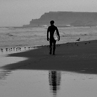 wee walk down the beach