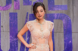 © Licensed to London News Pictures. 03/08/2016.KAREN FUKUHARA attends the Suicide Squad UK Film Premiere  London, UK. Photo credit: Ray Tang/LNP