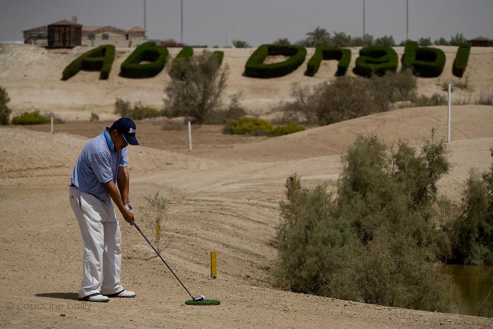 Abu Dhabi, United Arab Emirates (UAE). March 20th 2009.<br /> Al Ghazal Golf Club.<br /> 36th Abu Dhabi Men's Open Championship.<br /> Ken Ritzal