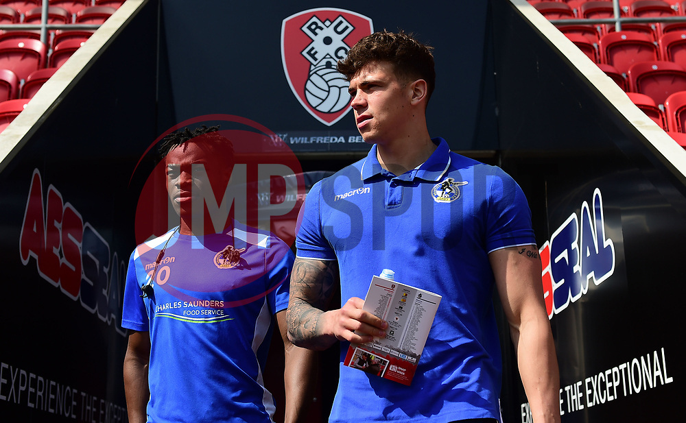 - Mandatory by-line: Alex James/JMP - 21/04/2018 - FOOTBALL - Aesseal New York Stadium - Rotherham, England - Rotherham United v Bristol Rovers - Sky Bet League One