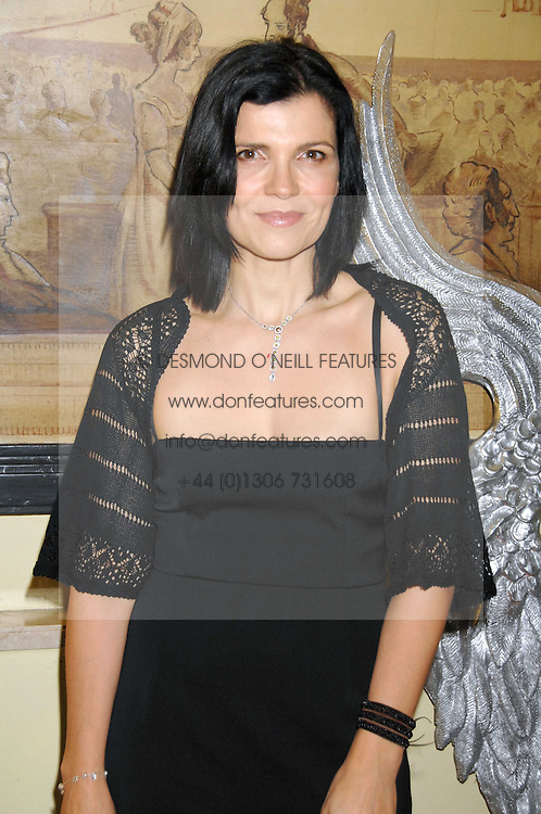 ALI HEWSON wife of singer Bono at the 10th Anniversary Party of the Lavender Trust, Breast Cancer charity held at Claridge's, Brook Street, London on 1st May 2008.<br />