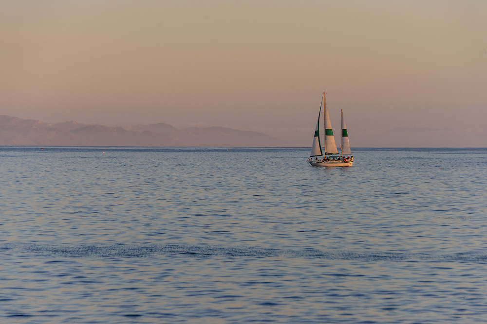 Sailing Boat, Santa Barbara, California