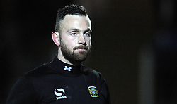 New signing Yeovil Town's Scott Loach looks on  - Photo mandatory by-line: Harry Trump/JMP - Mobile: 07966 386802 - 03/03/15 - SPORT - Football - Sky Bet League One - Yeovil v Walsall - Huish Park, Yeovil, England.