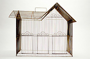 house shaped birdcage