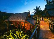 Laos. Luang Say Cruise on the Mekong. Luang Say Lodge.