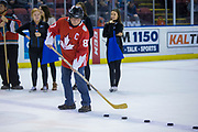 KELOWNA, CANADA - JANUARY 10:  Capital News at the Kelowna Rockets game on January 10, 2018 at Prospera Place in Kelowna, British Columbia, Canada.  (Photo By Cindy Rogers/Nyasa Photography,  *** Local Caption ***