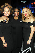 NEW YORK, NEW YORK- FEBRUARY 11: (L-R) Deryl McKissack (Honoree), LaTanya Richardson Jackson (Honoree) and Cheryl McKissack Daniel (Honoree) attend the National CARES Mentoring Movement 'FOR THE LOVE OF OUR CHILDREN' Gala Inside held at the Zeigfeld Ballroom on February 11, 2019 in New York City.  (Photo by Terrence Jennings/terrencejennings.com)