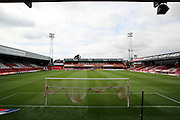 Griffin Park before the first game of the season during the EFL Sky Bet Championship match between Brentford and Ipswich Town at Griffin Park, London, England on 13 August 2016. Photo by Matthew Redman.