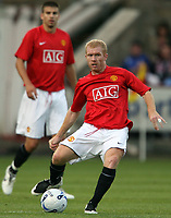 Photo: Paul Thomas. <br /> Dunfermline v Manchester United. Pre season Friendly.<br /> 08/08/2007. <br /> <br /> Paul Scholes of Utd.