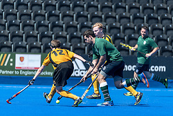 Surbiton 4th XI v Bebington 2nd XI - Men's T4 Final, Lee Valley Hockey & Tennis Centre, London, UK on 07 May 2018. Photo: Simon Parker