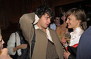 Conrad Shawcross, Tatler magazine Little Black Book party, Tramp. Jermyn St. 10 November 2004. ONE TIME USE ONLY - DO NOT ARCHIVE  © Copyright Photograph by Dafydd Jones 66 Stockwell Park Rd. London SW9 0DA Tel 020 7733 0108 www.dafjones.com