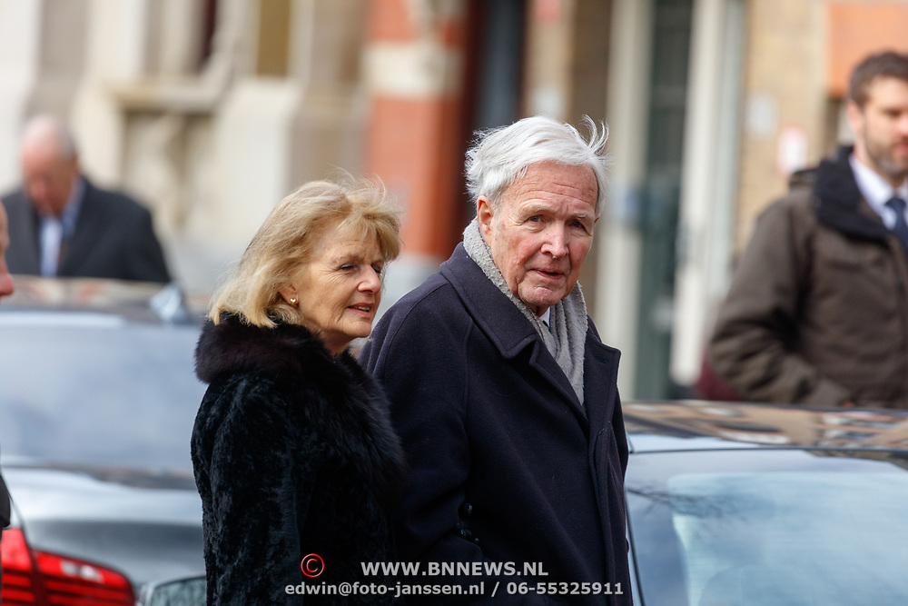 NLD/Rotterdam/20180220 - Herdenkingsdienst Ruud Lubbers, Jan Terlouw en dochter Sanne Terlouw