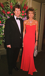 MR & MRS GUY SANGSTER, he is the son of leading race horse owner Robert Sangster, at a dinner in London on 19th May 1998.MHS 29