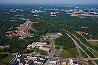 Aerial Photography of Arundel Preserve Office Park in Maryland by Jeffrey Sauers of Commercial Photographics
