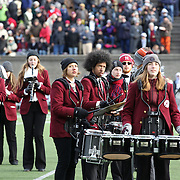 The Harvard Band playing during the Harvard Vs Yale, College Football, Ivy League deciding game, Harvard Stadium, Boston, Massachusetts, USA. 22nd November 2014. Photo Tim Clayton