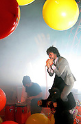 Wayne Coyne of The Flaming Lips performs at the Troxy on November 10, 2009 in London, England.  (Photo by Simone Joyner)