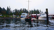 Shaw Island, Harbor, store,San Juan Islands, Puget Sound, Washington State