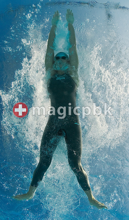 Valentina Artemyeva of Russia compete in the women's 50m breaststroke heats at the 13th FINA World Championships at the Foro Italico complex in Rome, Italy, Wednesday, Nov. 4, 2009. (Photo by Patrick B. Kraemer / MAGICPBK)
