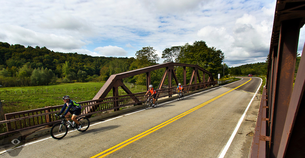 Day 4 riding from Camden to Old Forge on Wednesday, August 26, 2015.