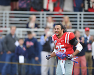 Ole Miss Rebels defensive back Cody Prewitt (25) vs. Mississippi State at Vaught-Hemingway Stadium in Oxford, Miss. on Saturday, November 29, 2014.