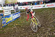 Friday 1st November 2013: Yannick Peeters during the Koppenbergcross 2013 Junior race. Copyright 2013 Peter Horrell