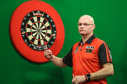 Mickey Mansell during the PDC Darts Players Championship at  at Butlins Minehead, Minehead, United Kingdom on 24 November 2017. Photo by Shane Healey.