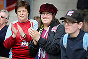Scunthorpe fans clapping after the EFL Sky Bet League 1 match between Scunthorpe United and Rotherham United at Glanford Park, Scunthorpe, England on 12 May 2018. Picture by Nigel Cole.