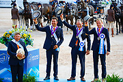 Team Nederland<br /> FEI World Equestrian Games Tryon 2018<br /> © DigiShots