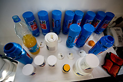 Drink of Slovenian team in a Andel's Hotel during Eurobasket 2009, on September 15, 2009 in  Lodz, Poland.  (Photo by Vid Ponikvar / Sportida)