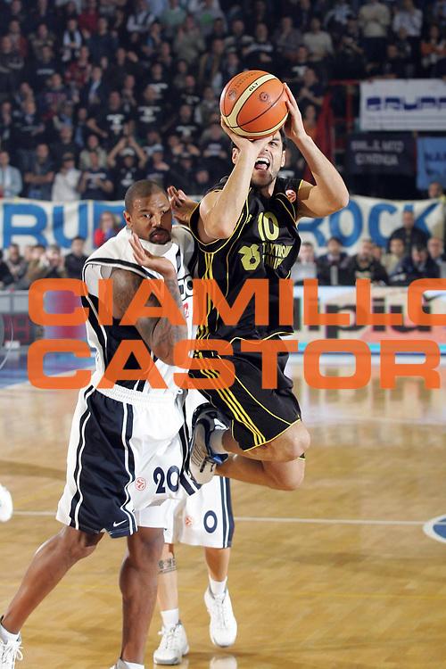 DESCRIZIONE : Napoli Eurolega 2006-07 Eldo Napoli Aris TT Bank Salonicco <br /> GIOCATORE : Iliadis<br /> SQUADRA : Aris TT Bank Salonicco <br /> EVENTO : Eurolega 2006-2007 <br /> GARA : Eldo Napoli Aris TT Bank Salonicco<br /> DATA : 08/11/2006 <br /> CATEGORIA : Tiro<br /> SPORT : Pallacanestro <br /> AUTORE : Agenzia Ciamillo-Castoria/A.De Lise