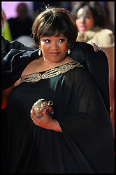 Mandela's Death. Nelson Mandela's daughter Zindzi Mandela on the red carpet at the Royal film performance of Mandela: Long Walk to Freedom, London, United Kingdom. On the Night her father died. Thursday, 5th December 2013. Picture by Andrew Parsons / i-Images