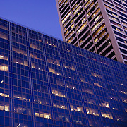 Buildings by night