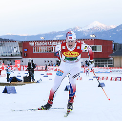 20.12.2014, Nordische Arena, Ramsau, AUT, FIS Nordische Kombination Weltcup, Staffel Langlauf, im Bild Haavard Klementsen (NOR) // during Cross Country of FIS Nordic Combined World Cup, at the Nordic Arena in Ramsau, Austria on 2014/12/20. EXPA Pictures © 2014, EXPA/ Martin Huber