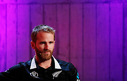 New Zealand's Kane Williamson during the Cricket World Cup captain's launch event at The Film Shed, London.