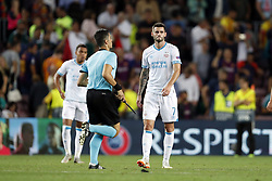 Gaston Pereiro of PSV during the UEFA Champions League group B match between FC Barcelona and PSV Eindhoven at the Camp Nou stadium on September 18, 2018 in Barcelona, Spain.