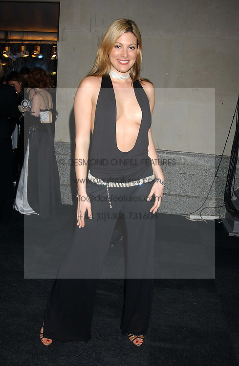 CATHERINE MCQUEEN at the Conservative Party's Black & White Ball held at Old Billingsgate, 16 Lower Thames Street, London EC3 on 8th February 2006.<br /><br />NON EXCLUSIVE - WORLD RIGHTS