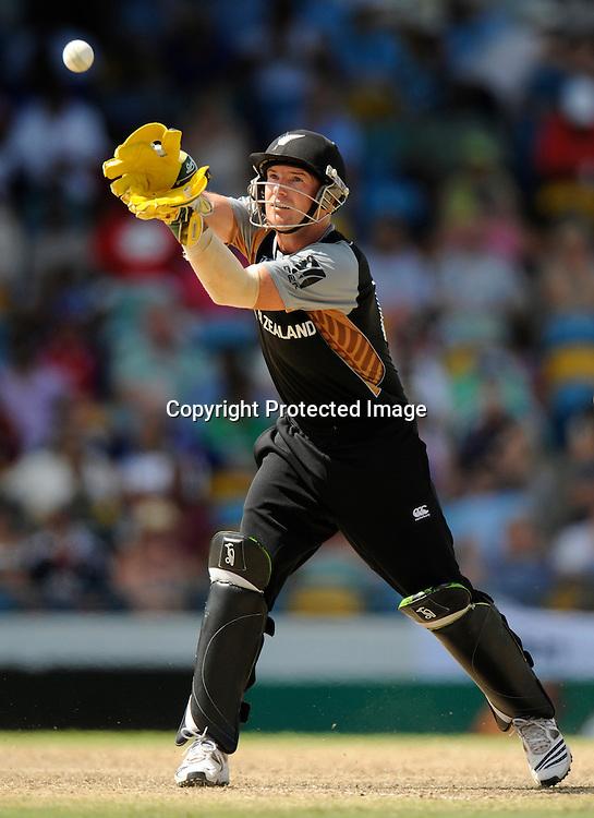 Gareth Hopkins. World Twenty20 Championship New Zealand Black Caps v Pakistan 8 may 2010.