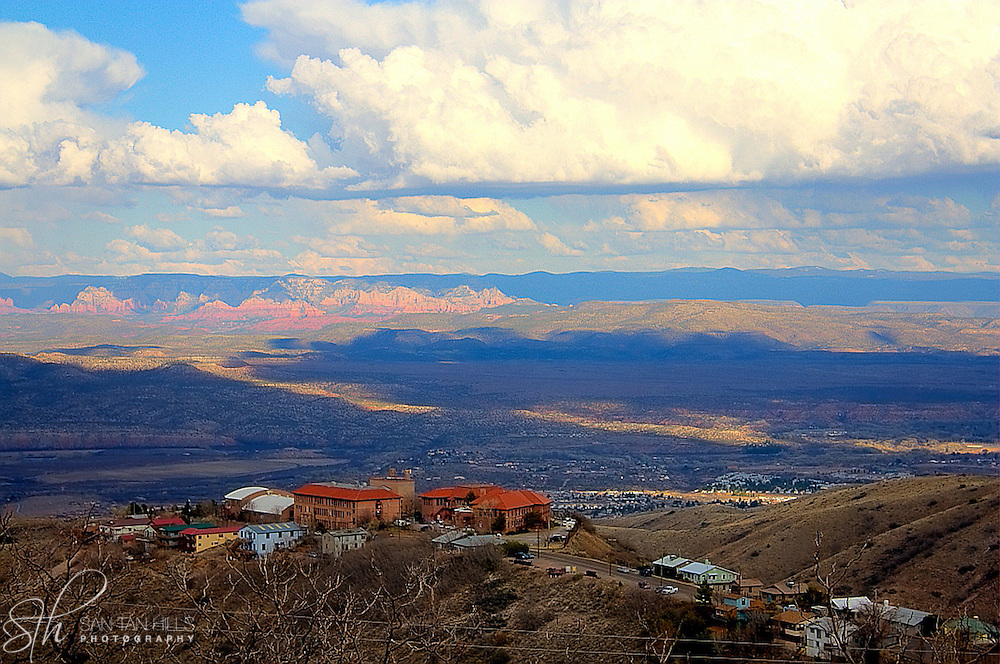 View from Jerome, AZ