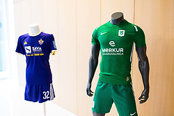 NK Olimpija and NK Maribor Jersey during NZS Draw for season 2019/20, on June 21, 2019 in Celje, Maribor, Slovenia. Photo by Ziga Zupan / Sportida