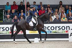 Loos Franka, (NED), GG Flow Cadanza<br /> Young Rider Kür Final<br /> Dutch Championship Dressage - Ermelo 2015<br /> © Hippo Foto - Dirk Caremans<br /> 19/07/15