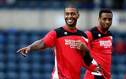 Mark Little of Bristol City smiles - Mandatory by-line: Robbie Stephenson/JMP - 09/08/2016 - FOOTBALL - Adams Park - High Wycombe, England - Wycombe Wanderers v Bristol City - EFL League Cup