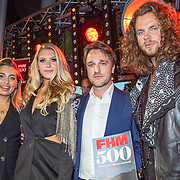 NLD/Amsterdam/20190522 - Uitreiking FHM500 2019, Shelly Sterk, winnares Jessie Jazz Vuijk, ....... en Jasper Suyk