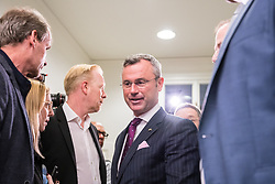 20.05.2019, Pressezentrum, Wien, AUT, FPOe, Presserklaerung nach dem Parteipraesidium mit Verkehrsminister Norbert Hofer und Innenminister Herbert Kickl, im Bild Norbert Hofer (FPOe)// during media conference after the presidium of the freedom party at the press center in Wien, Austria on 2019/05/20. EXPA Pictures © 2019, PhotoCredit: EXPA/ Florian Schroetter