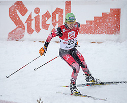 31.01.2016, Casino Arena, Seefeld, AUT, FIS Weltcup Nordische Kombination, Seefeld Triple, Langlauf, im Bild Franz-Josef Rehrl (AUT) // Franz-Josef Rehrl of Austria competes during 15km Cross Country Gundersen Race of the FIS Nordic Combined World Cup Seefeld Triple at the Casino Arena in Seefeld, Austria on 2016/01/31. EXPA Pictures © 2016, PhotoCredit: EXPA/ Jakob Gruber