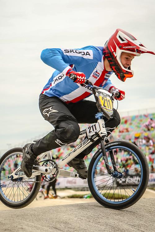 2018 UCI World Championships<br /> Baku, Azerbaijan<br /> 16 Boys #211 (PECHAC Adam) CZE