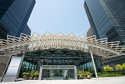 Exterior of The Galleria luxury shopping mall at Abu Dhabi Global Market on Al Maryah Island , Abu Dhabi,  UAE, United Arab Emirates