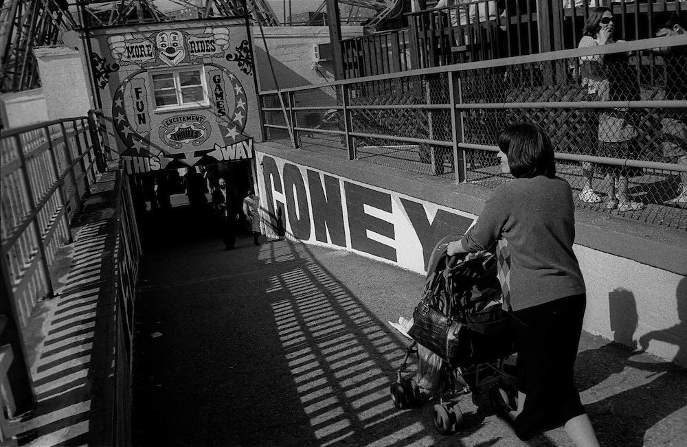 "Coney Island Amusement Park...Part of long-term (2005-2008) story ""I See A Darkness"". New York, NY."