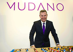 Scottish Finance Secretary Derek Mackay at the launch of the government's Economic Action plan at the Spaces offices in Fountainbridge, Edinburgh, the home for new software company Mudano. pic copyright Terry Murden @edinburghelitemedia