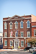 Historic city hall in Laurens, South Carolina.